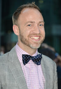 Composer Nathan Johnson at the opening night gala premiere of
