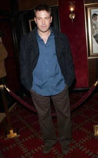 Ben Affleck at the N.Y. premiere of