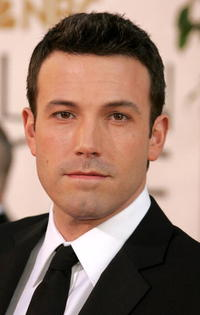 Ben Affleck at the 64th Annual Golden Globe Awards in Beverly Hills.