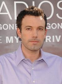 Ben Affleck at Madrid for the photocall of
