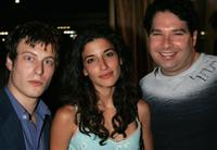 Noah Segan, Tania Raymonde and Joel Michaely at the 4th Annual IndieProducer Awards Gala.