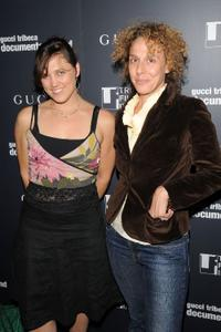 Heidi Ewing and Rachel Grady at the Gucci and Tribeca Film Institute celebration of the 2008 GTDF Recipients.