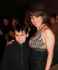 Adrian Alonso and Kate del Castillo at the special screening of
