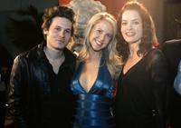 Kris Lemche, Chelan Simmons and Gina Holden at the premiere of