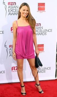 Moon Bloodgood at the 2007 AZN Asian Excellence Awards.