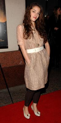 Olivia Thirlby at the special screening of