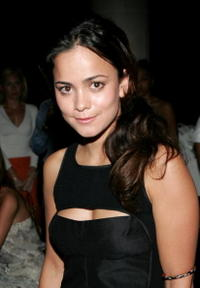Alice Braga at the Voice of the Streets benefit in N.Y.