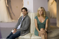Bridal beat reporter Kevin (James Marsden) takes careful notes as Tess (Malin Akerman) makes elaborate plans for her upcoming nuptials in