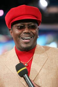 Bernie Mac at the MTV's Total Request Live.