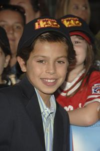 Jake T. Austin at the New York premiere of