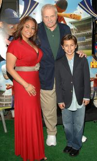 Raven Symone, Brian Dennehy and Jake T. Austin at the New York premiere of