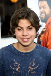 Jake T. Austin at the premiere of