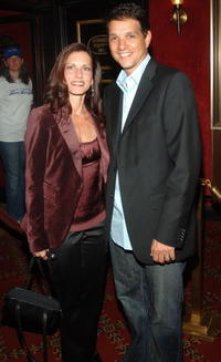 Ralph Macchio and his wife Phyllis Fierroat at the world premiere of
