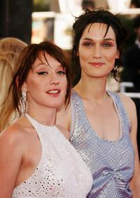 Ludivine Sagnier and Clotilde Hesme at the premiere of