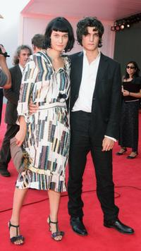 Clotilde Hesme and Louis Garrel at the premiere of
