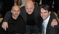 David Marciano, Michael Chiklis and David Rees Snell at the AFI Awards 2008 reception.