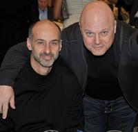 David Marciano and Michael Chiklis at the AFI Awards 2008 reception.