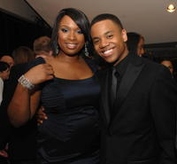 Jennifer Hudson and Tristan Wilds at the premiere of