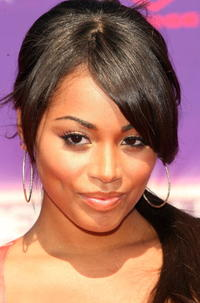 Lauren London at the 2007 BET Awards in L.A.