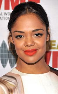 Tessa Thompson at the International Women's Media Foundation's Courage in Journalism Awards.
