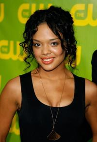 Tessa Thompson at the CW Network Winter TCA party.