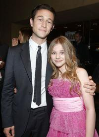 Joseph Gordon-Levitt and Chloe Grace Moretz at the after party of the premiere of