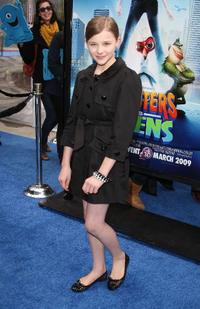 Chloe Grace Moretz at the premiere of
