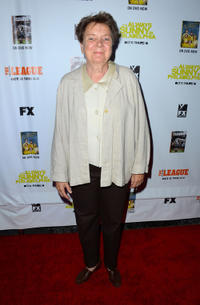 Sandy Martin at the California premiere of