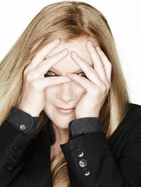 Director Andrea Arnold on the set of