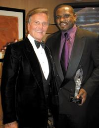 Pat Boone and Darius McCrary at the 10th Annual Movieguide Awards.
