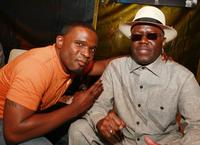 Darius McCrary and Bernie Mac at the after party of the premiere of