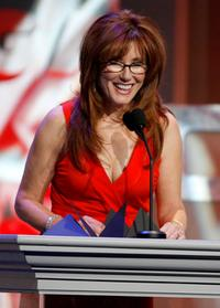 Mary McDonnell at the 59th annual Directors Guild Of America Awards.