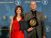Mary McDonnell and Dante Ariola at the 59th annual Directors Guild Of America Awards.