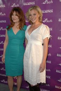 Mary McDonnell and Katee Sackhoff at the