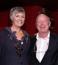 Kelly McGillis and director Tony Scott at the California premiere of