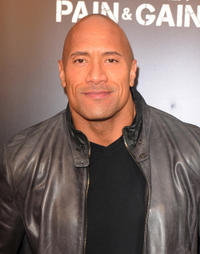 Dwayne Johnson at the Florida premiere of