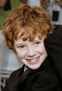 Grayson Russell at the premiere of