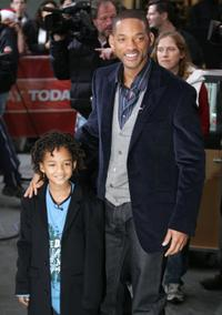 Jaden Smith and Will Smith at the NBC's Today Show.