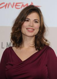 Hayley Atwell at the photocall of