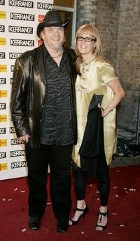 Meatloaf and his wife Lesley at the Kerrang! Awards 2005, the annual music magazine's prestigious awards.