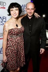 Diablo Cody and Daniel Dubiecki at the Centerpiece Gala screening of