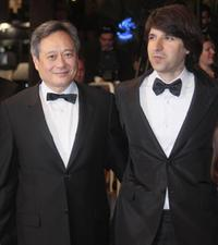 Ang Lee and Demetri Martin at the screening of