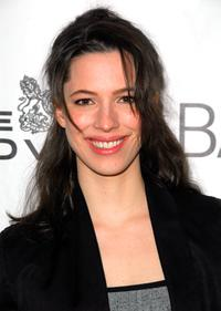Rebecca Hall at the BAM and the Old Vic announcement for the Bridge Project Benefit.
