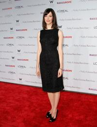 Rebecca Hall at the premiere of