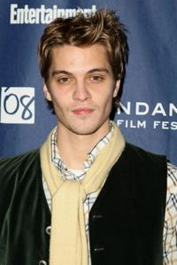 Luke Grimes at the premiere of