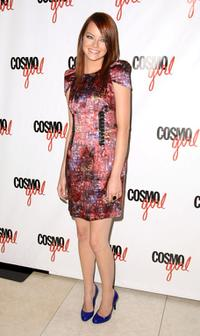 Emma Stone at the screening of
