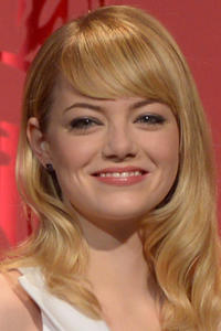 Emma Stone at the 85th Academy Awards Nominations Announcement in Beverly Hills.