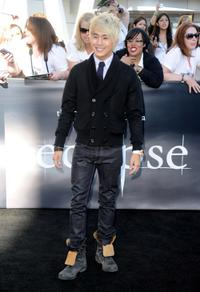Justin Chon at the premiere of