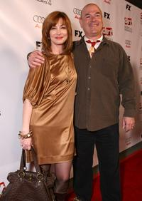 Larry Miller and Sharon Lawrence at the 2nd season premiere screening of
