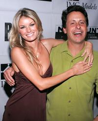 Marisa Miller and Producer Bob Horowitz at the premiere of